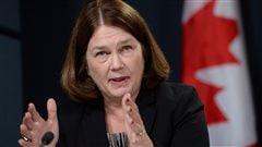 Jane Philpott, ministre fédérale de la Santé dans le gouvernement de Justin Trudeau.