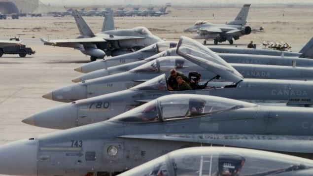 Les CF-18 canadiens cesseront leurs missions de bombardement le 22 février.