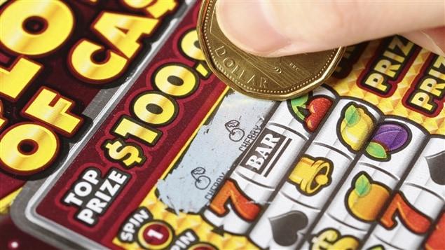 Un billet de lotto