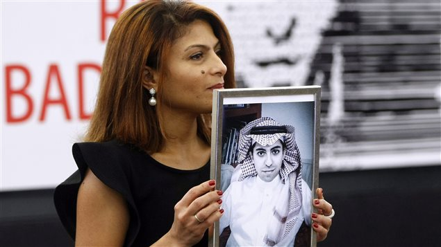 Ensaf Haidar, has lobbied long and hard for help getting her husband Raif Badawi freed from a Saudi Arabian prison.