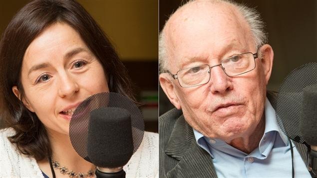 Laure Waridel et Bernard Landry