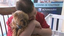 Métier: «câlineur» pour chien