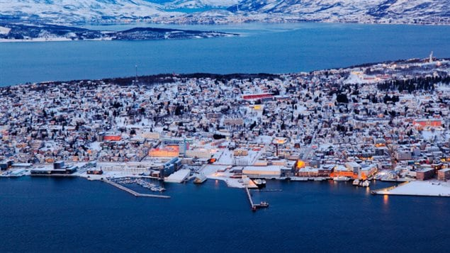 Tromso, Norway, host city for the international Arctic Frontiers conference