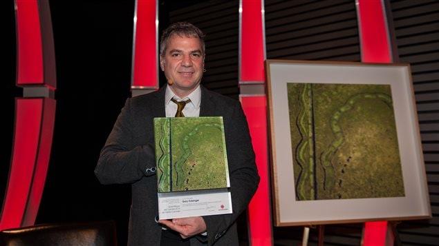 Gary Kobinger, le scientifique de l'ann�e de Radio-Canada pour l'ann�e 2015