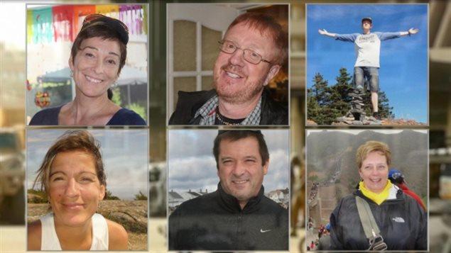 Les familles attendent toujours de savoir quand seront rappatriés au Canada les corps des six victimes québécoises décédées dans l'attentat de vendredi dernier à Ouagadougou, au Burkina Faso.