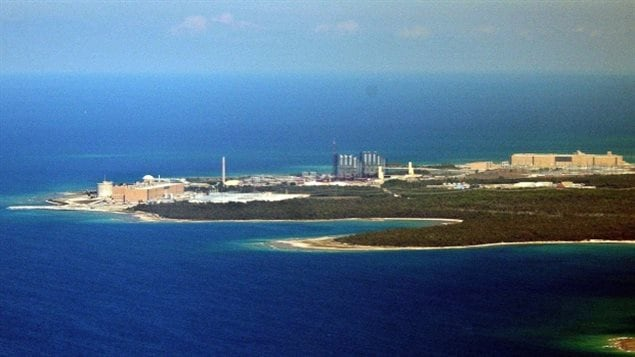 The Bruce Power nuclear generating station in Kincardine currently stores waste above ground but a plan is afoot to bury some of it underground.