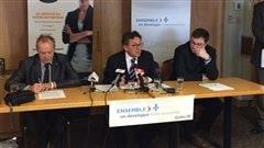 Le ministre régional Jean D'Amour était de passage à Carleton-sur-Mer