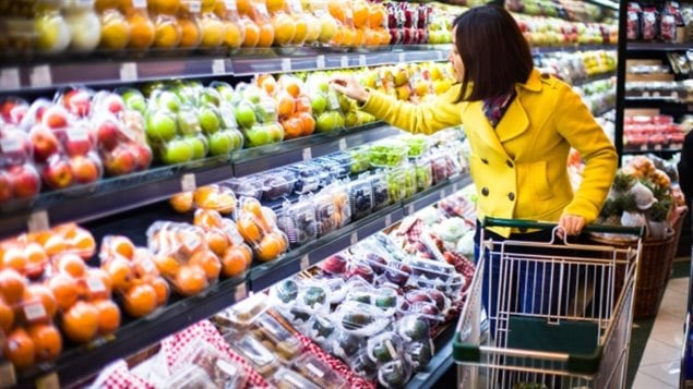 Prices for food purchased from stores recorded their largest decline since July 1992, down 2.1% in the 12 months to October