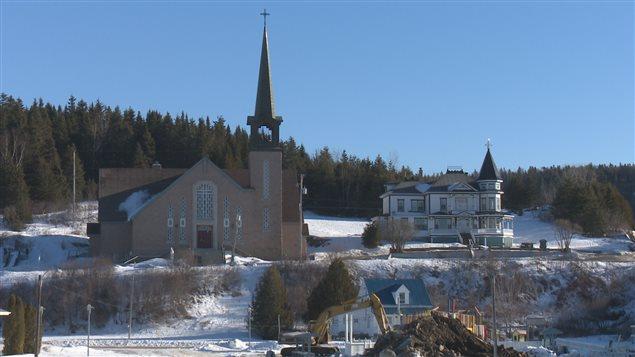 Église de Port-Daniel en Gaspésie