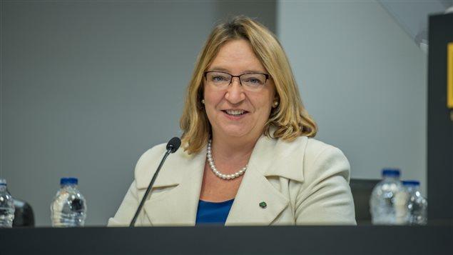 La conseillère municipale Sylvie Goneau