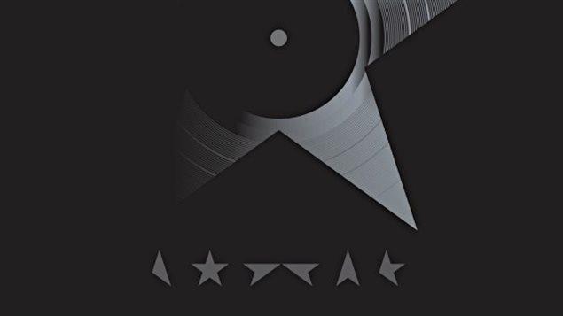 Une partie de la pochette de l'album de David Bowie, Blackstar.