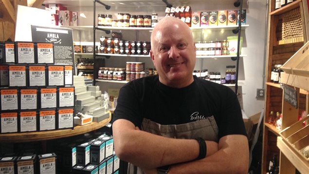 Richard Desnoyers, chef principal de chez Edible Canada à Vancouver