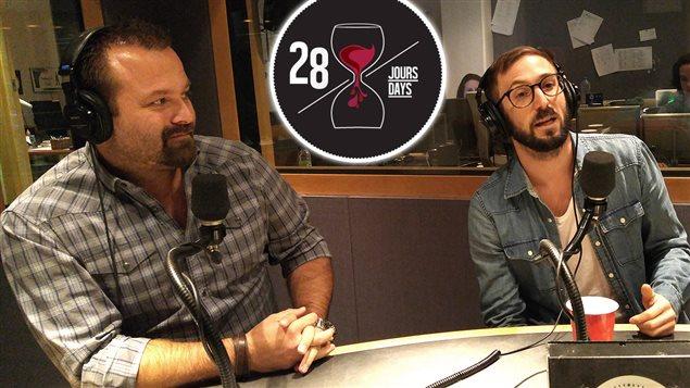 Jonathan Garnier et Jean-Sébastien Chouinard
