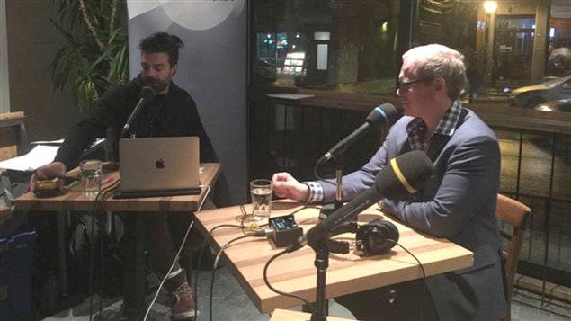 Brian Myles, le nouveau directeur du quotidien Le Devoir, interviewé par Jean-Philippe Wauthier