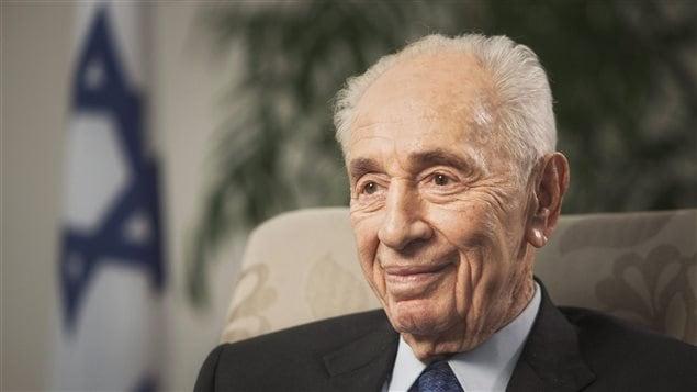 L'ex-président d'Israël Shimon Peres