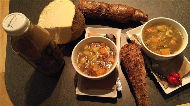 La soupe de la deuxième semaine du Mois de l'histoire des Noirs : soupe à Congo (Guadeloupe)