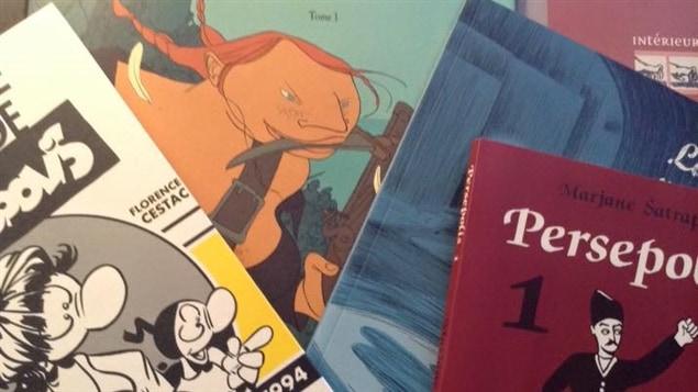 Livres de bandes dessinés