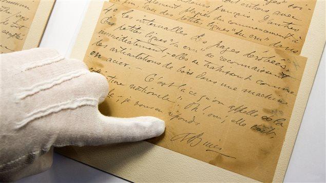 Archives d'Arthur Buies consultées à la BANQ Vieux-Montréal