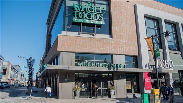 Le magasin Whole Foods à Ottawa