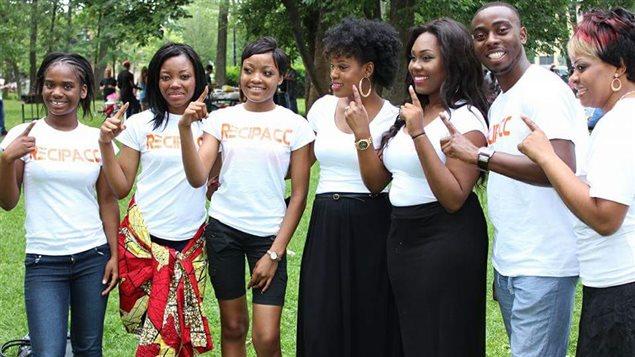 Des sympathisants du RECIPACC, lors de la célébration de la fête de l'indépendance congolaise, en juillet 2015
