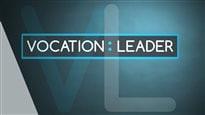 Gérald Fillion présente l'émission Vocation : leader