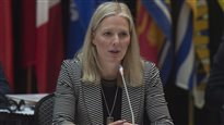 La ministre de l'Environnement, Catherine McKenna