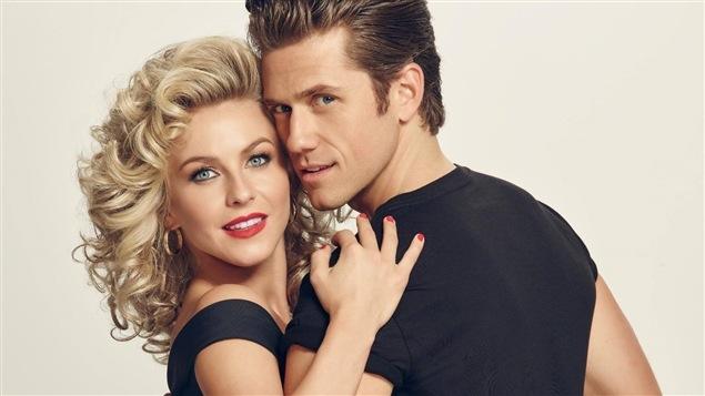 Julianne Hough et Aaron Tveit tiendront la vedette dans la version de <i>Grease</i> qui sera diffusée en direct, le 31 janvier à 19 h sur Fox et CTV.