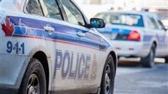 Des voitures de la police