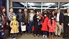 La première famille de réfugiés est arrivée au Yukon