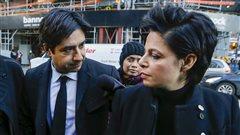 Jian Ghomeshi accompagné de son avocate Marie Henein