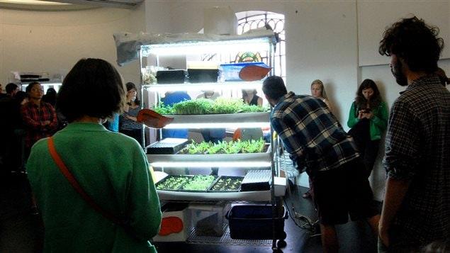 Le syste`me de production alimentaire � domicile BioUnit