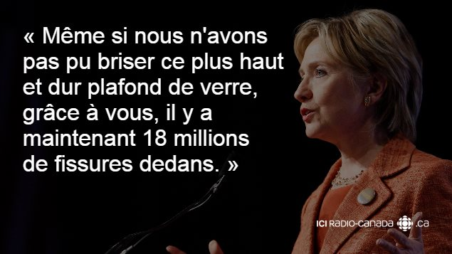 Favorit Hillary Clinton en 10 citations | En route vers la présidentielle  LP83