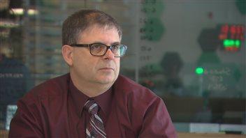 Edgar Goulette, directeur des services de soutien chez SMU Medavie