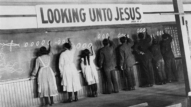 Un pensionnat autochtone à Red Deer en Alberta au début du 20e siècle – Archives de l'Église Unie du Canada