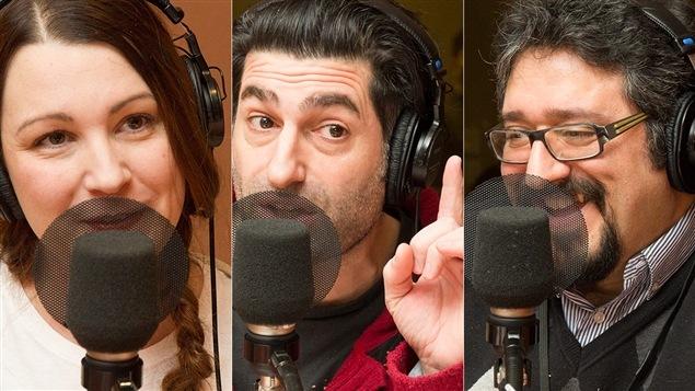 Geneviève Pettersen, Patrick Masbourian et Ghassan El-Baalbaki