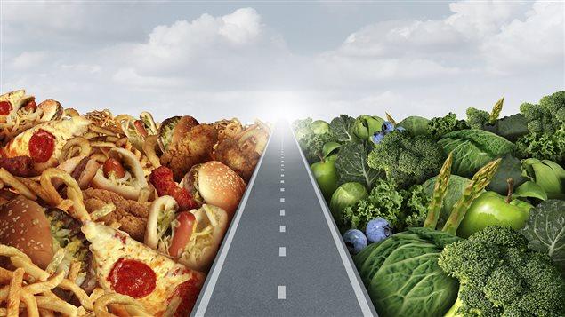 Une alimentation saine doit être basée sur l'équilibre