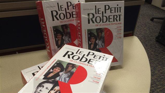 Le dictionnaire de la langue française, Le Petit Robert, édition 2016