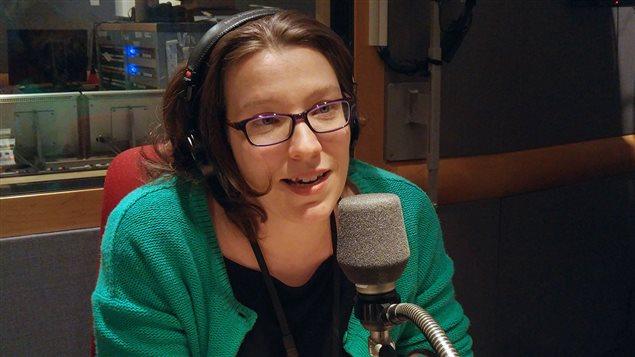 La dramaturge Marcelle Dubois
