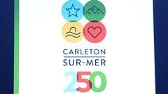 Lancement des couleurs des fêtes du 250e de Carleton-sur-Mer qui sera souligné en 2017.