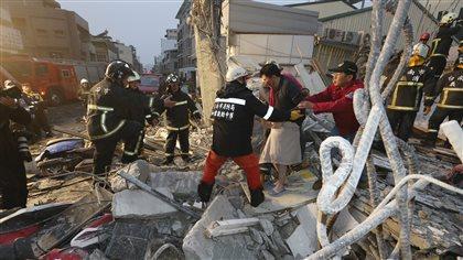 Au moins sept morts dans un séisme à Taïwan