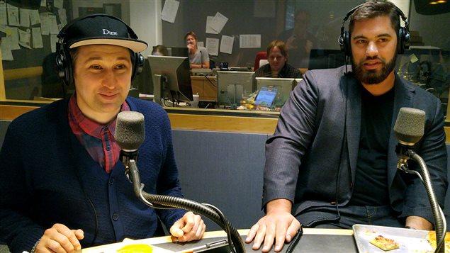 Bob le Chef et Laurent Duvernay-Tardif
