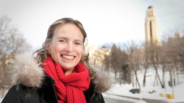 Mich�le Brochu, professeure � l'Universit� de Montr�al, a perdu son fils Maxime, qui s'est enlev� la vie en 2012.