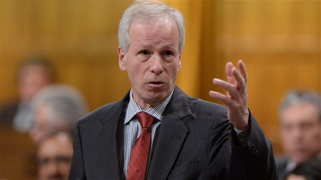 Minister of Foreign Affairs Stephane Dion responds to a question during question period in the House of Commons on Parliament Hill in Ottawa on Friday, Feb. 5, 2016.