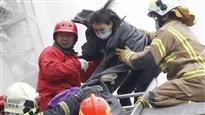 Au moins 7morts et 400blessés dans un séisme à Taïwan