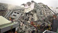 Séisme à Taïwan: au moins 14morts, 400blessés et 100disparus
