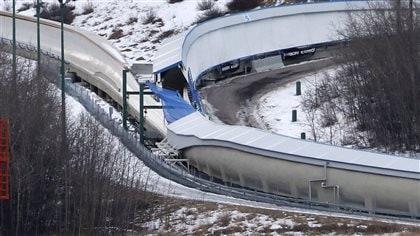 Accident mortel sur une piste de bobsleigh à Calgary