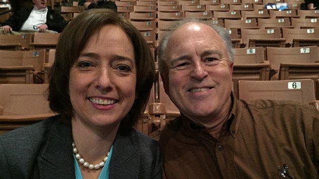 Mosemarie Boyd et Mike Todd, venus de l'Arkansas