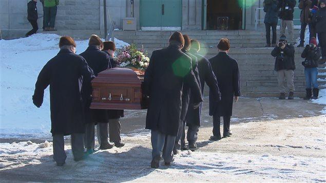 Les funérailles de Suzanne Bernier ont eu lieu samedi avant-midi à l'église Saint-Thomas-d'Aquin