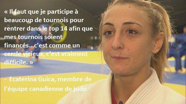 Ecaterina Guica, judoka