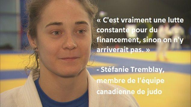 Stéfanie Tremblay, judoka